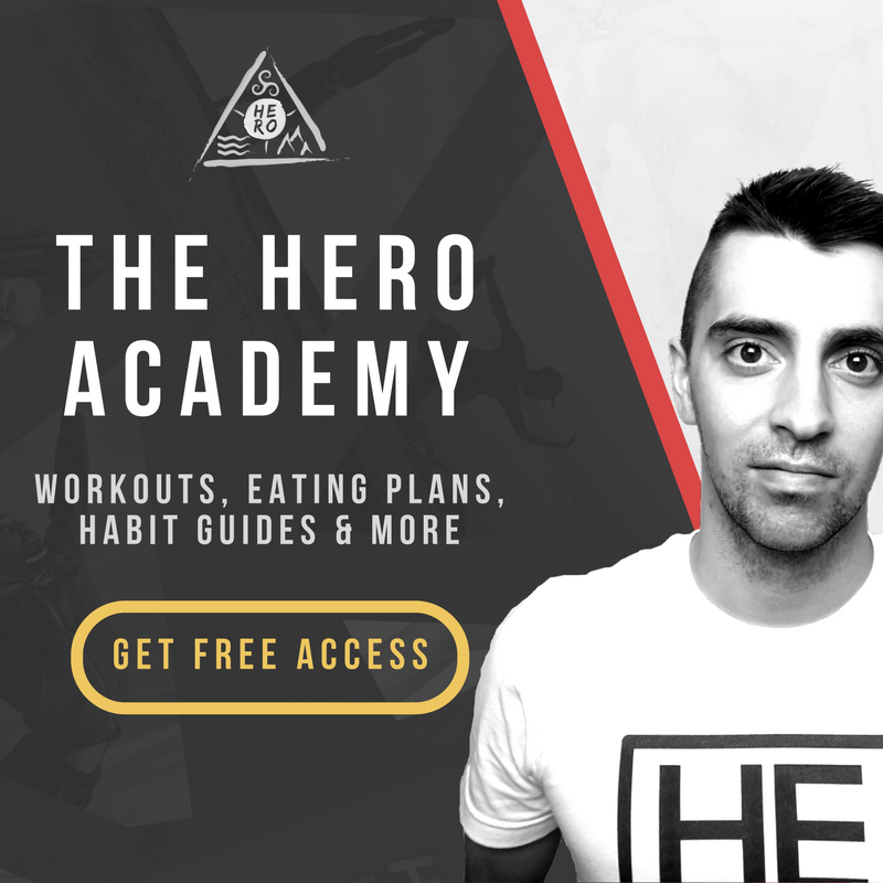HERO MOVEMENT HERO Academy Sidebar