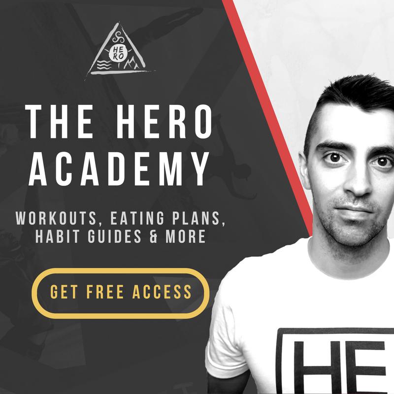 HERO MOVEMENT HERO Academy Sidebar